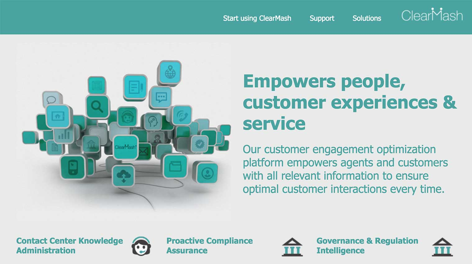 ClearMash home page