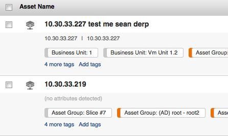 Asset Details Screenshot