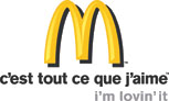 Logo of McDonald's France