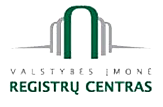 The Lithuanian State Enterprise Centre of Registers logo