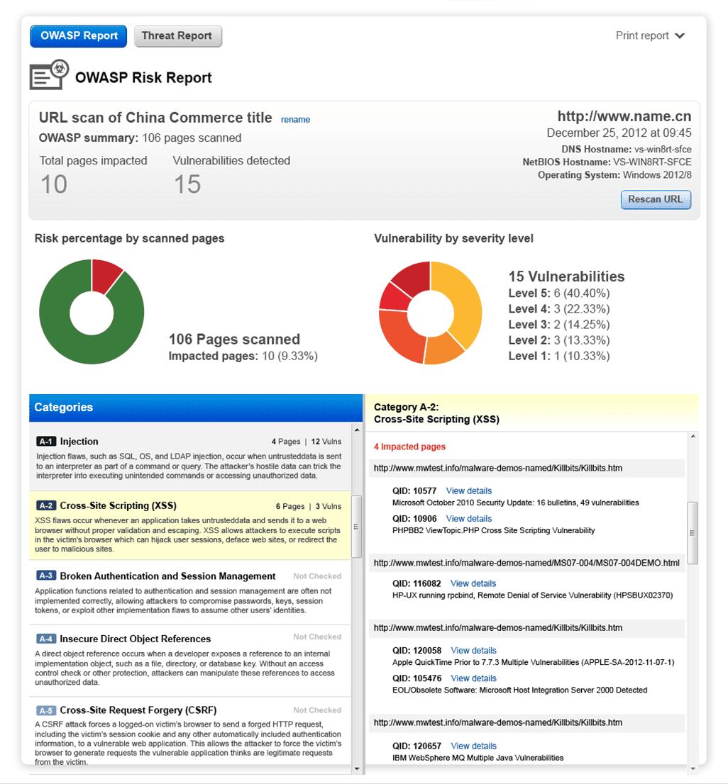 Web App Security   Qualys, Inc