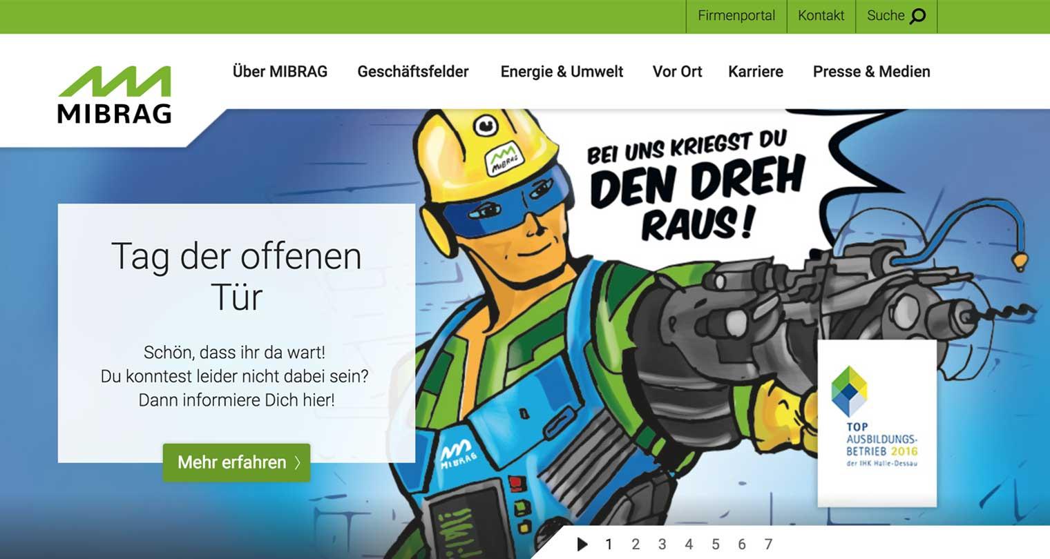 MIBRAG home page