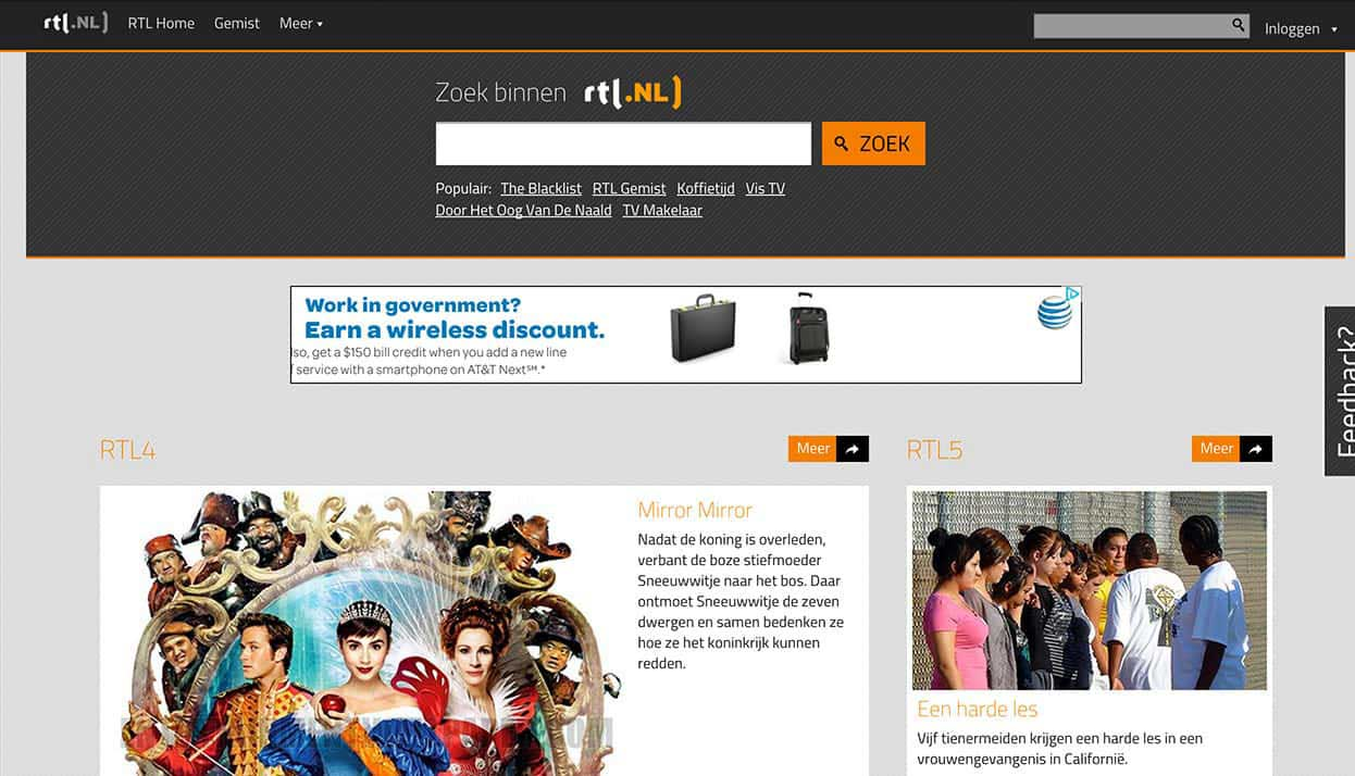 RTL Home Page