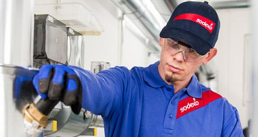 Sodexo worker