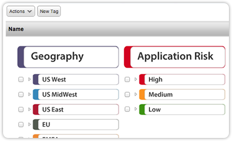 Qualys Web Application Scanning Asset Tagging
